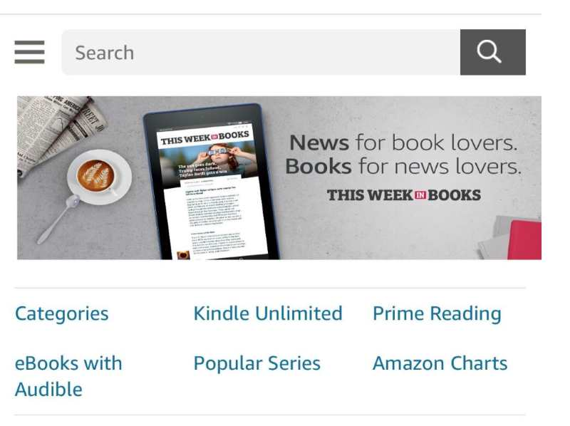 kindle unlimited button