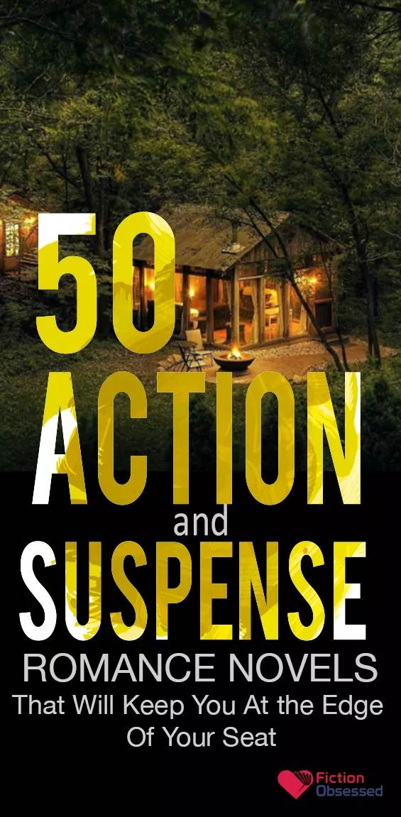 50 Best Action And Suspense Romance Novels To Read 2019