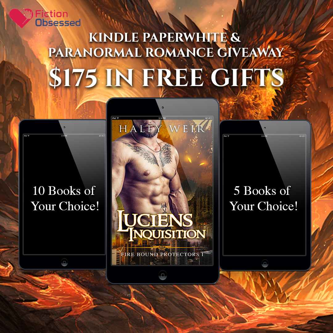 Kindle Paperwhite & Paranormal Romance Giveaway